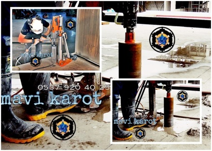 Mavi karot, İstanbul Karot, 0537 920 40 25, İstanbul Karot, karot, karotçu